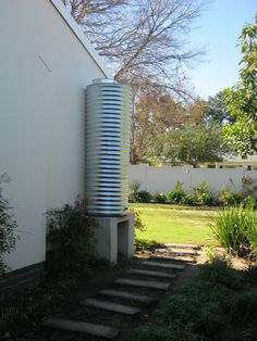 how to set up a rainwater tank for garden