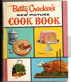 Vtg Betty Crockers New Picture Cookbook 1961 4th Ed HC Drawings Joseph Pearson