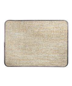 Juliska Golden Silver Woven Placemat