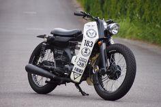 Honda Motorbikes, Honda Scooters, Honda Scrambler, Cb400 Cafe Racer, Cafe Racer Honda, Cafe Bike, Scooter 50cc, Scooter Motorcycle, Honda Cub