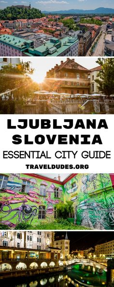 The Perfect Long Weekend Guide to Exploring Ljubljana, Slovenia. Spend 4 days in this East-European city and discover the best places for local food, beer, nightlife, cycling & kayaking tours, sleeping in a treetop, exploring the castle and the caves in the area! || TravelDudes Travel Community