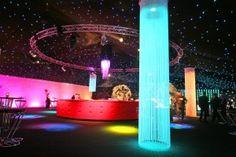 Illuminated Fringe Pillar