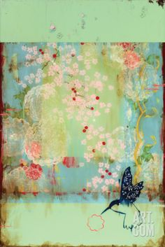Cherry Blossoms Print by Kathe Fraga at Art.com