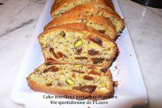 Vie quotidienne de FLaure: Cake moelleux pistaches et poires (Un tour en cuisine n° 125)