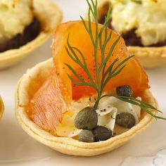 Smoked Salmon & Dill Mini Tartlets