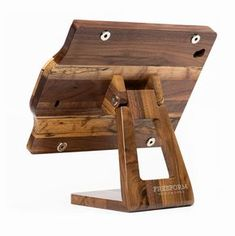 Form Meets Function: The Freeform Wooden iPad stand  (available for all iPads and iPads using Square Register or Magteks iDynamo4 and iDynamo5