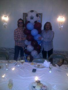 Me and Geezer... Happy B'day my Villa uber fan... http://yfrog.com/mngbemlj