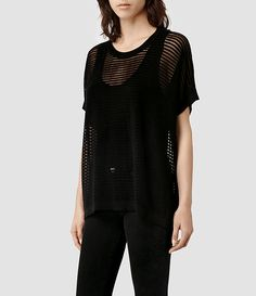 Womens Ladder T-shirt - Black  I just bought this, and I am never going to stop wearing it.