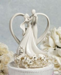 Vintage Inspired Rose Pearl and Heart by weddingcollectibles - http://www.etsy.com/listing/49586433/vintage-inspired-rose-pearl-and-heart