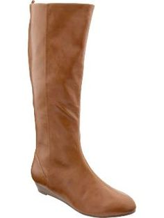 Women's Sliver-Wedge Boots | Old Navy. $36.00 USD. I want these.
