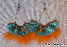 Ze Trio craque pour ces BO originales qui sauront sublimer notre bronzage !! Vous les trouverez dans les boutiques La Droguerie. Des questions ? Nous vous donnons rdv sur notre blog ci-dessous : tricots-de-la-dro... #bijoux #ladroguerie #boucles d'oreilles