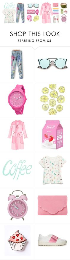 """""""Coffee time"""" by imurzilkina ❤ liked on Polyvore featuring ZeroUV, Rip Curl, Disney, MaxMara, Charlotte Russe, Dune and Valentino"""