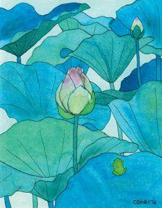 Lotus (Xiaochun thou) by Coharu