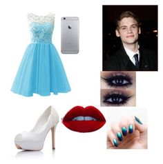 """""""date with tony"""" by apenegar ❤ liked on Polyvore"""