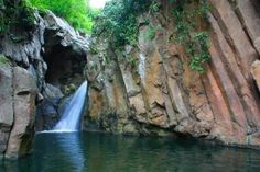 Alinsyawan falls is one of the beauty spots in San Carlos City, located in Sitio Palampas one of the Barangays of the city. The people are friendly and you will surely enjoy the place. The Barangay Council of the said sitio developed the falls and opened it to the public read more Philippines, Places To Go, Waterfall, Public, People, Outdoor, Beauty, San Carlos, Black