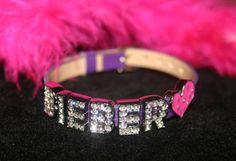 Justin Bieber Rhinestone Charm Bracelet for Girls. $22.50, via Etsy.