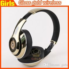 2016 High Quality Used Beats Studio Gloss Gold Limited Edition Headphones… Running Headphones, Best Headphones, Over Ear Headphones, Marshall Major, Beats Studio, Brand You, Gold, Stuff To Buy, Yellow