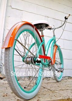 I love this color combo. Maybe, one day, I will repaint my beach cruiser. And by I, I mean @Yort Notsew.
