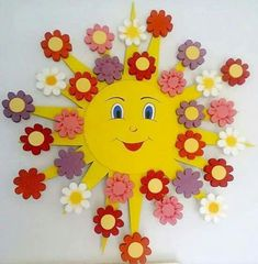 Easy Crafts Spring Crafts for Kids / Preschoolers & Toddlers to make this season of new beginnings - Hike n Dip Kids Crafts, Spring Crafts For Kids, Summer Crafts, Easter Crafts, Preschool Activities, Diy For Kids, Diy And Crafts, Arts And Crafts, Foam Crafts