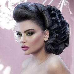 arabic hairstyles arabic beauty and hair updo styles on