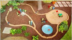 autodraha pre deti na dvore 3