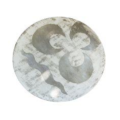 Dinner Plate: Mumtaz Bloom Silver Plate   Arjumand
