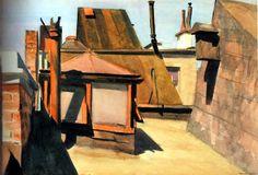 My roof, Edward Hopper