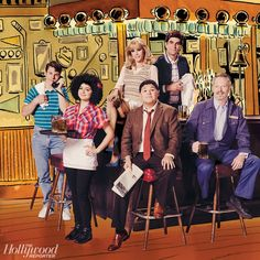 'Cheers'   The Hollywood Reporter, Illustration by Zahar Lazar