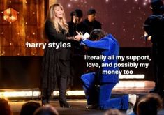 he's the ultimate human being Harry Styles Memes, Harry Styles Cute, Harry Styles Photos, Harry Edward Styles, Larry, Love You So Much, My Love, Response Memes, Harry 1d