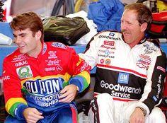 Jeff & Dale were great friends !! #DaleEarnhardtMemorial http://www.pinterest.com/jr88rules/dale-earnhardt-memorial/