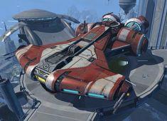 Corellian Defender Class Light Corvette