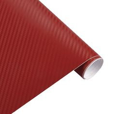 3D Carbon Fiber Vinyl Car Wrap Sheet Roll Film Sticker Decals 127x30cm Dw