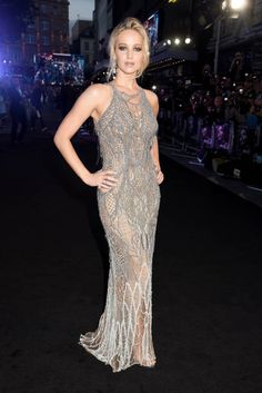 Actress Jennifer Lawrence attends the 'Mother' UK premiere at Odeon Leicester Square on September 6 2017 in London England