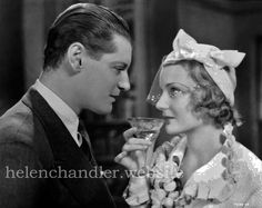 Helen with Ralph Forbes in 'Christopher Strong' (RKO, My collection. Hollywood Actor, Hollywood Actresses, Classic Hollywood, Helen Chandler, Strong, Actors, Collection, Actor