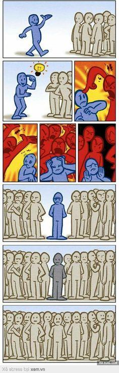 Đừng quan tâm người khác nói gì về bạn :))