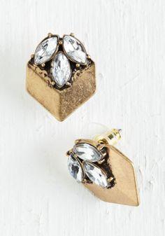 ModCloth Vintage Inspired Fancy Fantasy Earrings