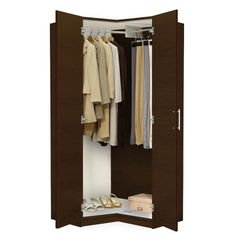Wardrobe Closet for Increasing the Beauty of Your House alta corner wardrobe closet - free standing corner closet ATYNZFR Corner Wardrobe Closet, 4 Door Wardrobe, Wardrobe Cabinets, Wardrobe Storage, Built In Wardrobe, Closet Bedroom, Closet Storage, Closet Racks, Closet Curtains