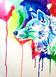 rainbow wolf | Rainbow Wolf 5 by Lucky978 on deviantART