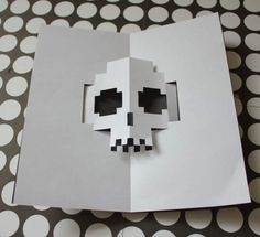 Como hacer tarjetas de halloween pop-up