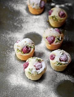 The Violet Bakery's Pistachio, Hazelnut, and Raspberry Friands Recipe | InStyle.com