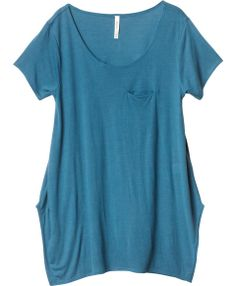 loose tshirt with pockets in 5 colors