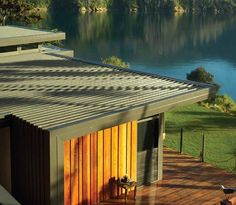 Purotu Beach House by architect Davor Mikulcic, Studio MWA. COLORSTEEL® Maxx® prepainted steel in Thunder Grey, by Steel and Tube, Christchurch. Roof Soffits, Modern Barn House, Metal Cladding, New Zealand Houses, Social Housing, Roofing Materials, Metal Roof, New Builds, Beach House
