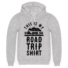 This Is My Road Trip Shirt - Satisfy your wanderlust and get lost and or drunk in strange places with this road trip t shirt perfect for a cross country road trip, a trip to a new country, the mountains, the woods, new cities, making discoveries, having camp fires, eating new food, going to the beach, kayaking, experiencing the US from the road, and partying in remote places!