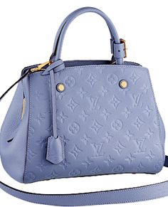 Louis Vuitton periwinkle handbag beautiful color!