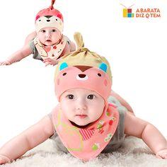 Gorro Nó e Lenço Babador Estilo Baby http://abaratadizqtem.com.br/produtos-por-func-o/vestir-enfeitar/gorro-no-e-lenco-babador-estilo-baby