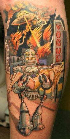 ROBOT!!! By Teresa Sharpe