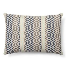 "Woven Texture Olong Decorative Pillow (20""x14"") Mint Ash  - Threshold™"