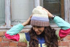 Slouchy Hat Ski hat ski beanie winter beanie mens by GeromeSM, $28.50