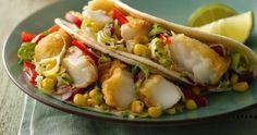RECETTE :  Cherchez-vous une recette facile à faire pour recevoir les amis ?  Essayez ces Tacos au poisson avec la salade de coriandre et chili su Sud-Ouest.  #bienfaire  #facileafaire  #mazola  #tacosaupoisson