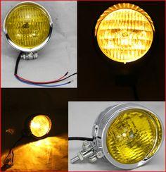 "(68.88$)  Buy here - http://aic9m.worlditems.win/all/product.php?id=32664474517 - ""4.5 """" Motorcycle head light Motor Bike Headlamp Spot Light for Chopper Cruiser Cafe Racer(E-Mark,H4 60/55 W 12V,High Low Beam)"""
